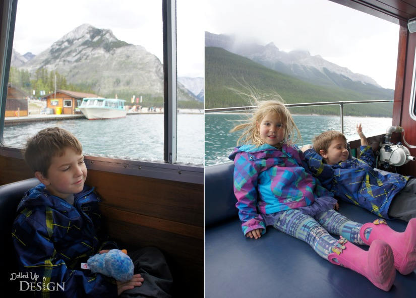 Our Banff Adventure_Day 3 Lake Minnewanka Boat Cruise