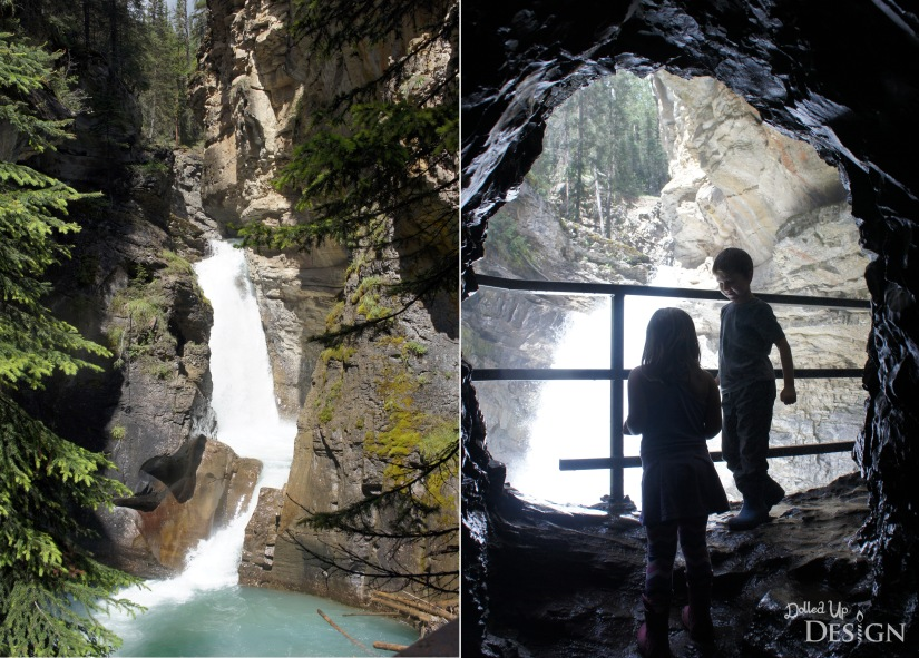 Our Banff Adventure_Day 4 Johnston Canyon Lower Falls