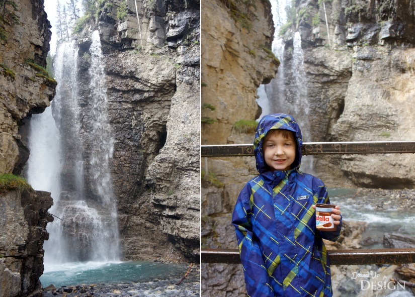 Our Banff Adventure_Day 4 Johnston Canyon Upper Falls