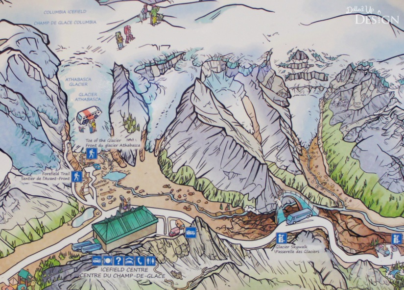 Our Banff Adventure_Day 5 Columbia Ice Field Info Centre and Tours
