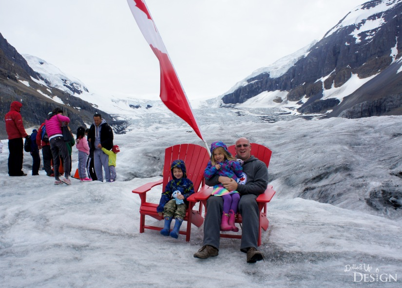 Our Banff Adventure_Day 5 Columbia Ice Field Red Chairs
