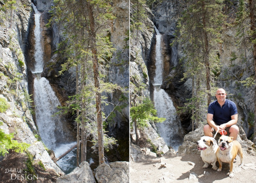 Our Banff Adventure_Day 6 Bow Valley Parkway Silverton Falls