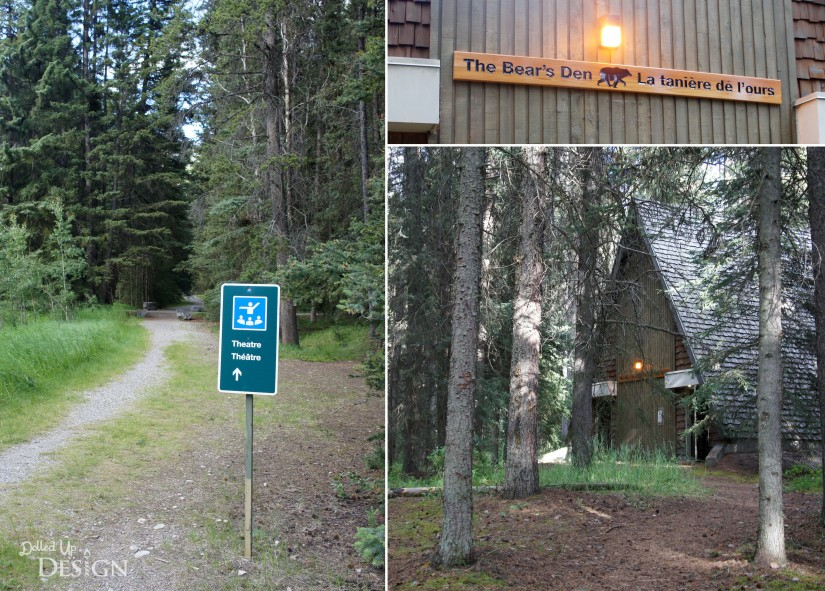 Johnston Canyon Campground Review_Bear's Den Amphitheatre