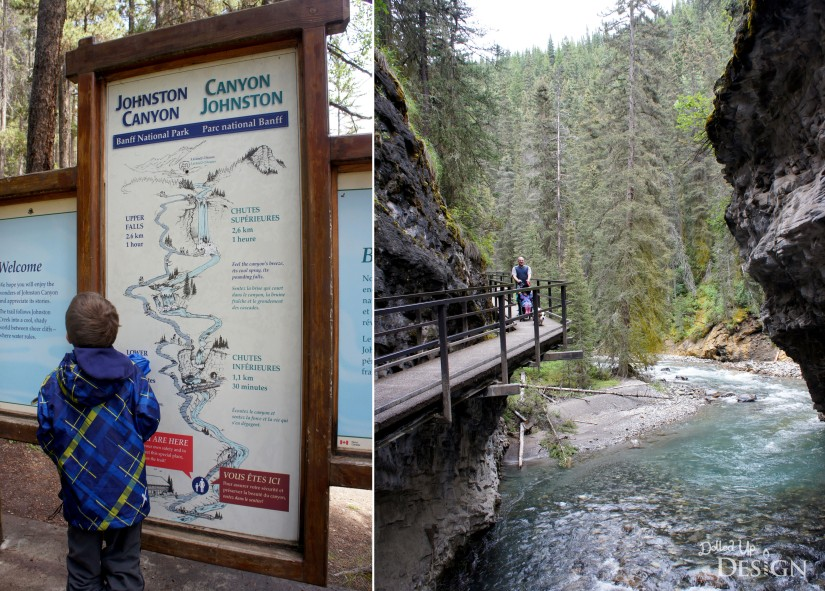 Johnston Canyon Campground Review_Hike to Falls