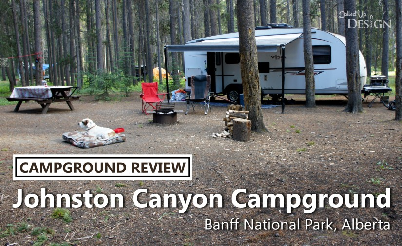 Johnston Canyon Campground Review