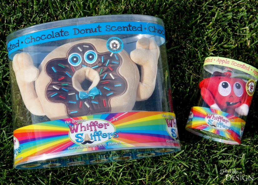 Whiffer Sniffer Toy Review_Freddy Frosted Chocolate Donut and Adam Apple