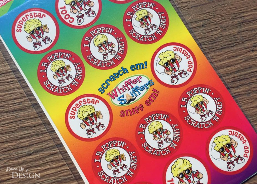 Whiffer Sniffer Toy Review_I.B.Poppin' Scratch 'N Sniff Stickers