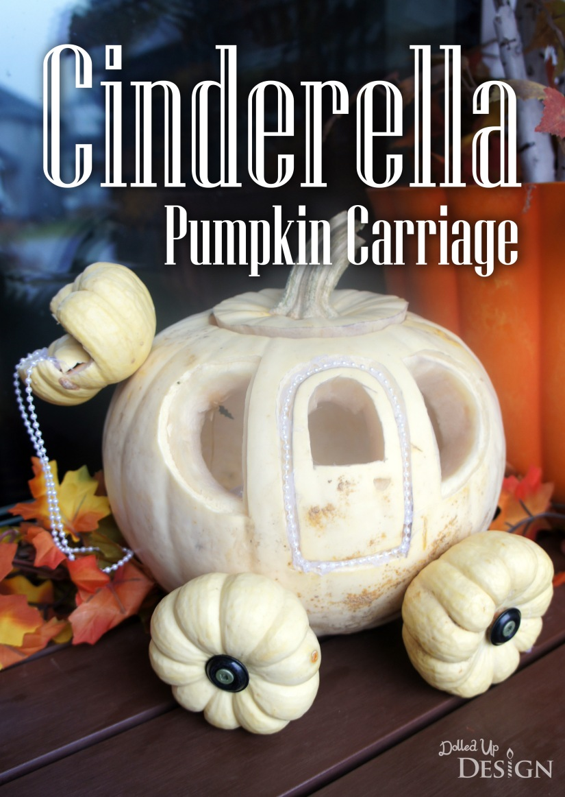 Cinderella Pumpkin Carriage_Halloween 2016
