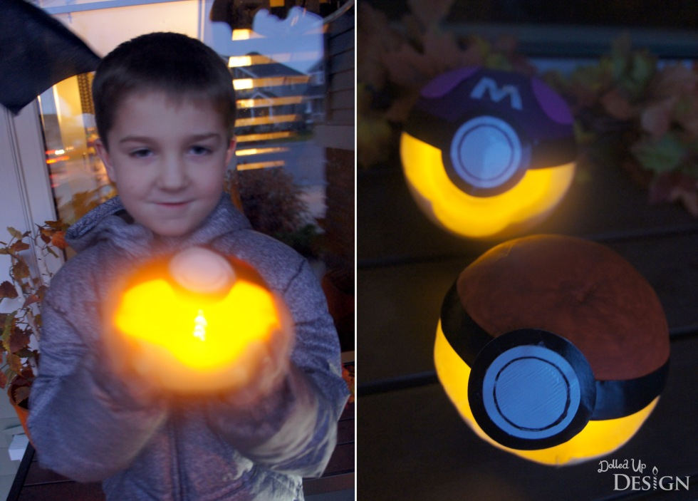 Pokemon Halloween Pumpkins_Pokeballs