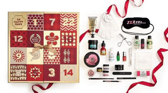 Advent Calendars 2016_The Body Shop Beauty Calendar