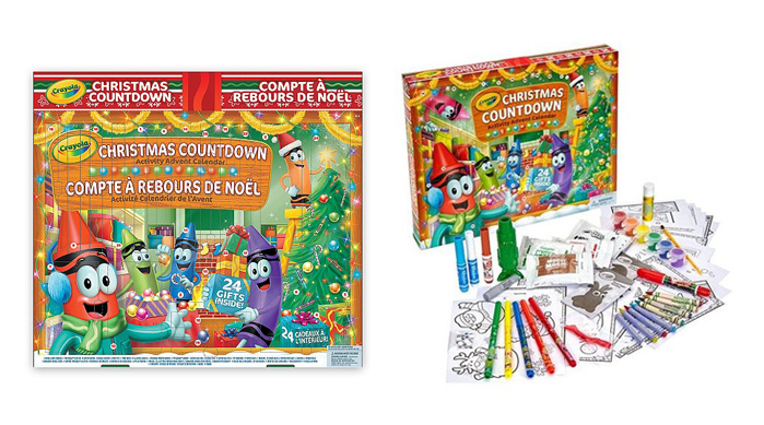 Advent Calendars 2016_Crayola Creative Christmas Countdown