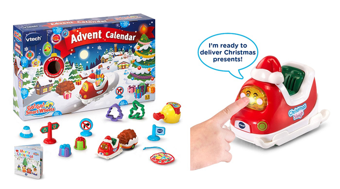 Advent Calendars 2016_VTech Go! Go! Smart Wheels