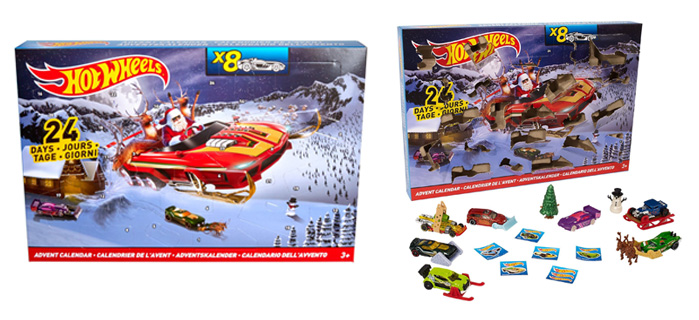 Advent Calendars 2016_Hot Wheels