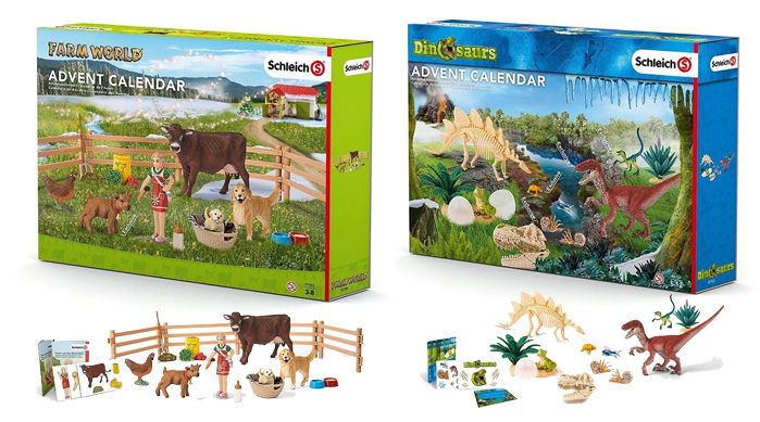 Advent Calendars 2016_Schleich Farm World & Dinosaurs