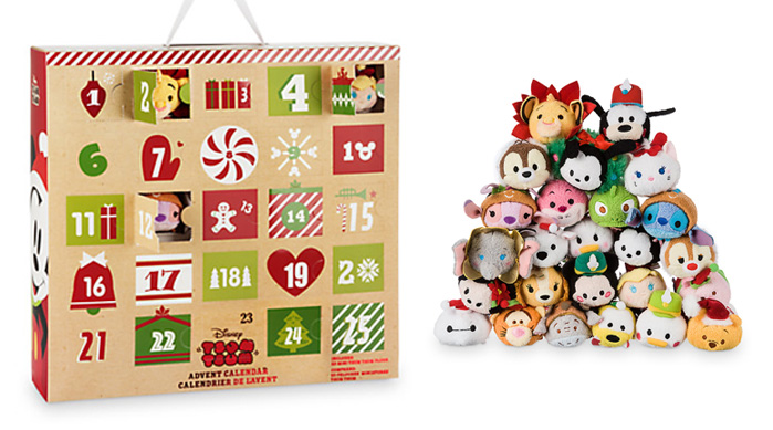 Advent Calendars 2016_Disney Store Plush Tsum Tsum