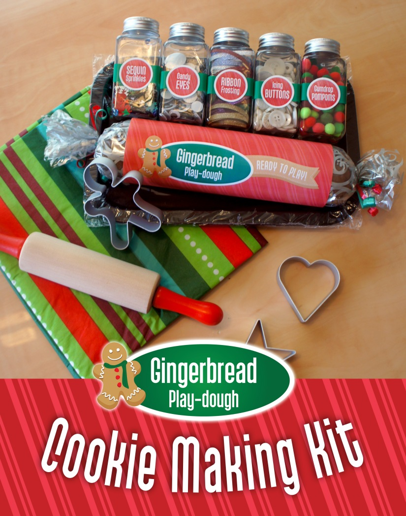 Gingerbread Play-dough_Cookie Making Kit