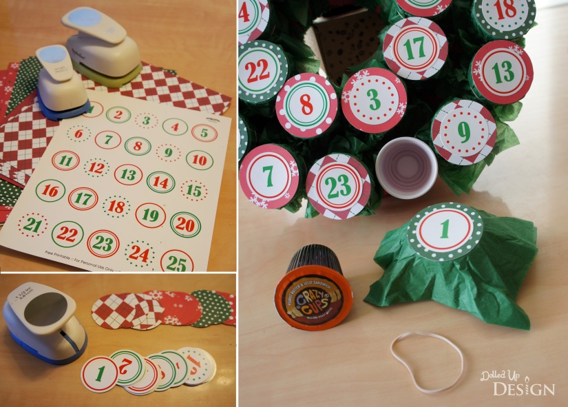 DIY K-cup Advent Wreath_Numbers