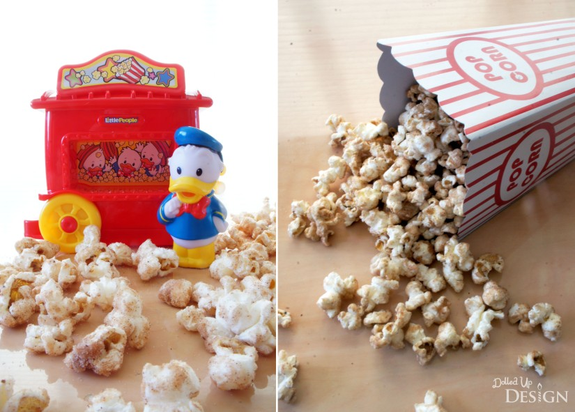 DIsney Inspired Treats_Churro Popcorn_National Popcorn Day January 19DIsney Inspired Treats_Churro Popcorn for National Popcorn Day January 19