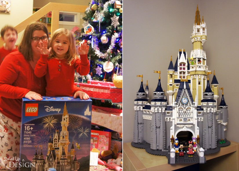 Lego Cinderella's Castle _ Christmas 2016