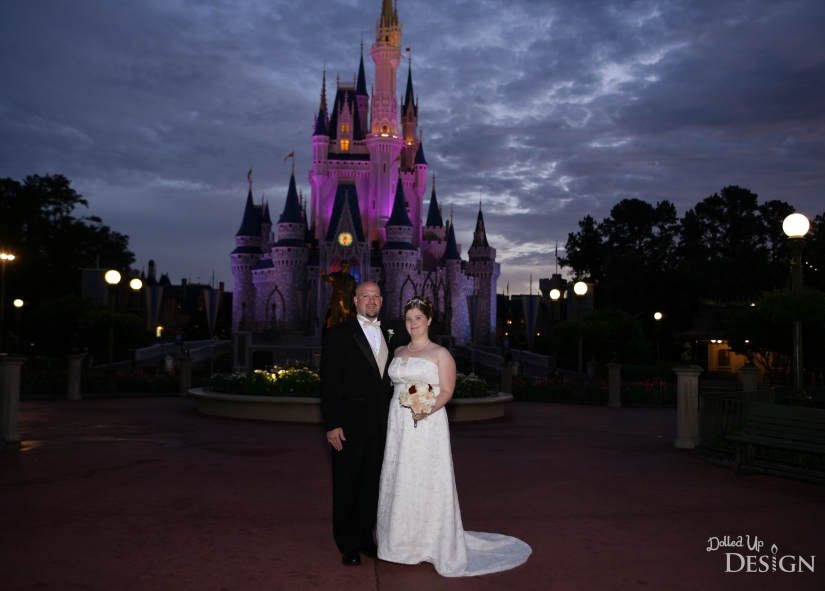 Remembering Dad with Roses _ Disney Fairytale Wedding