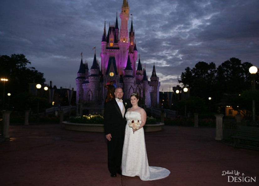 Disney World Wedding_DolledUpDesign