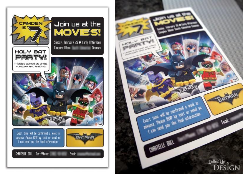 The Lego Batman Movie_Birthday Party Planning_Invitation