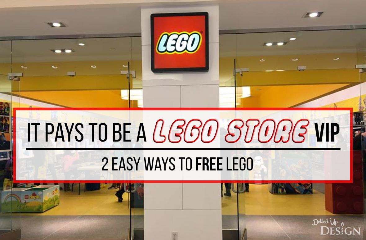 Lego VIP Program_2 Ways to get FREE Lego