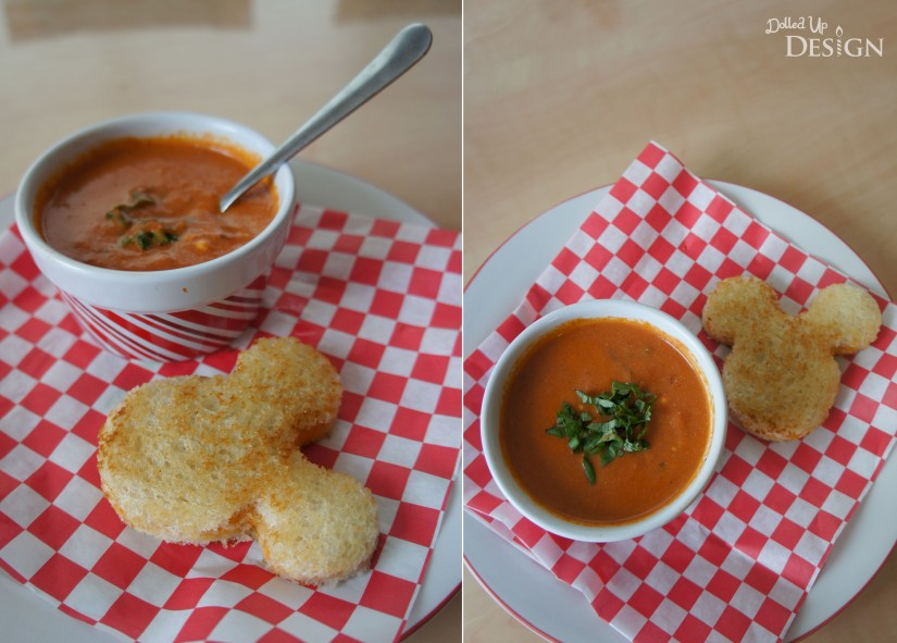 Disney Inspired Treats _ Tomato Basil Soup Homemade Soup Day March 4