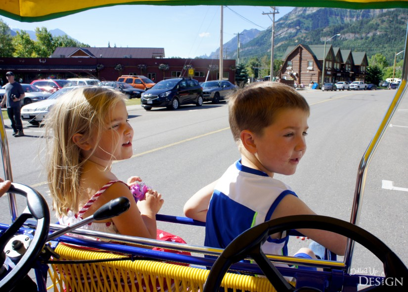 A Week in Waterton_Pedal Carts