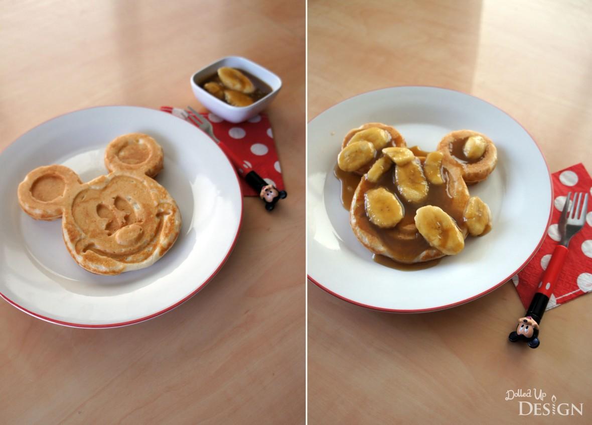 Disney Inspired Treats_Bananas Foster Waffles