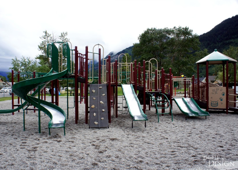 A Week in Waterton_Playground and Splashpark