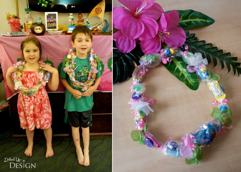 Moana Party_DIY Candy Leis