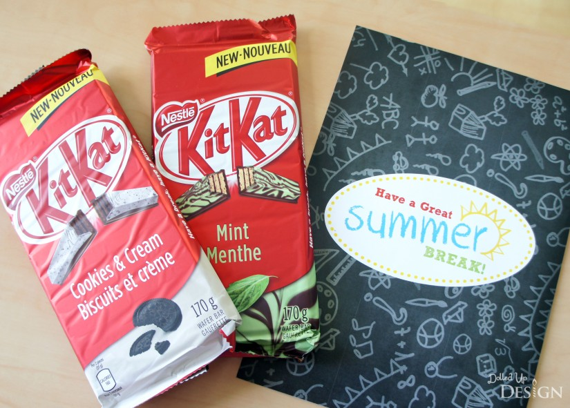 Kit Kat Bar Teacher Gift
