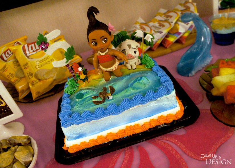 Moana Party_Birthday Cake