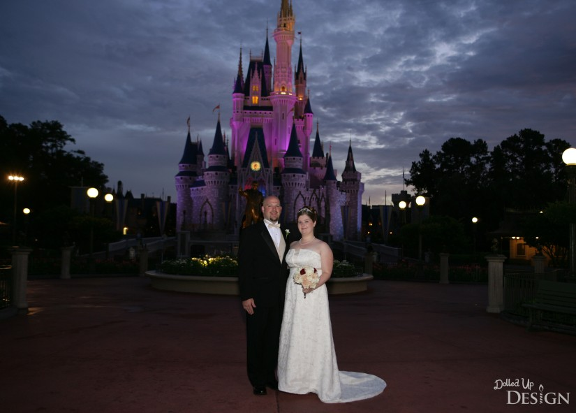 Disney Fairytale Wedding_July 17 2007