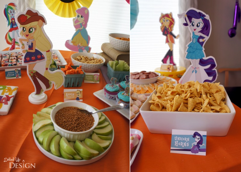 My Little Pony Equestria Girls Party _ Pony themed treats