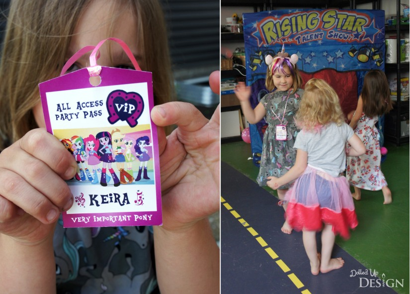 My Little Pony Equestria Girls Party _ VIP Passes