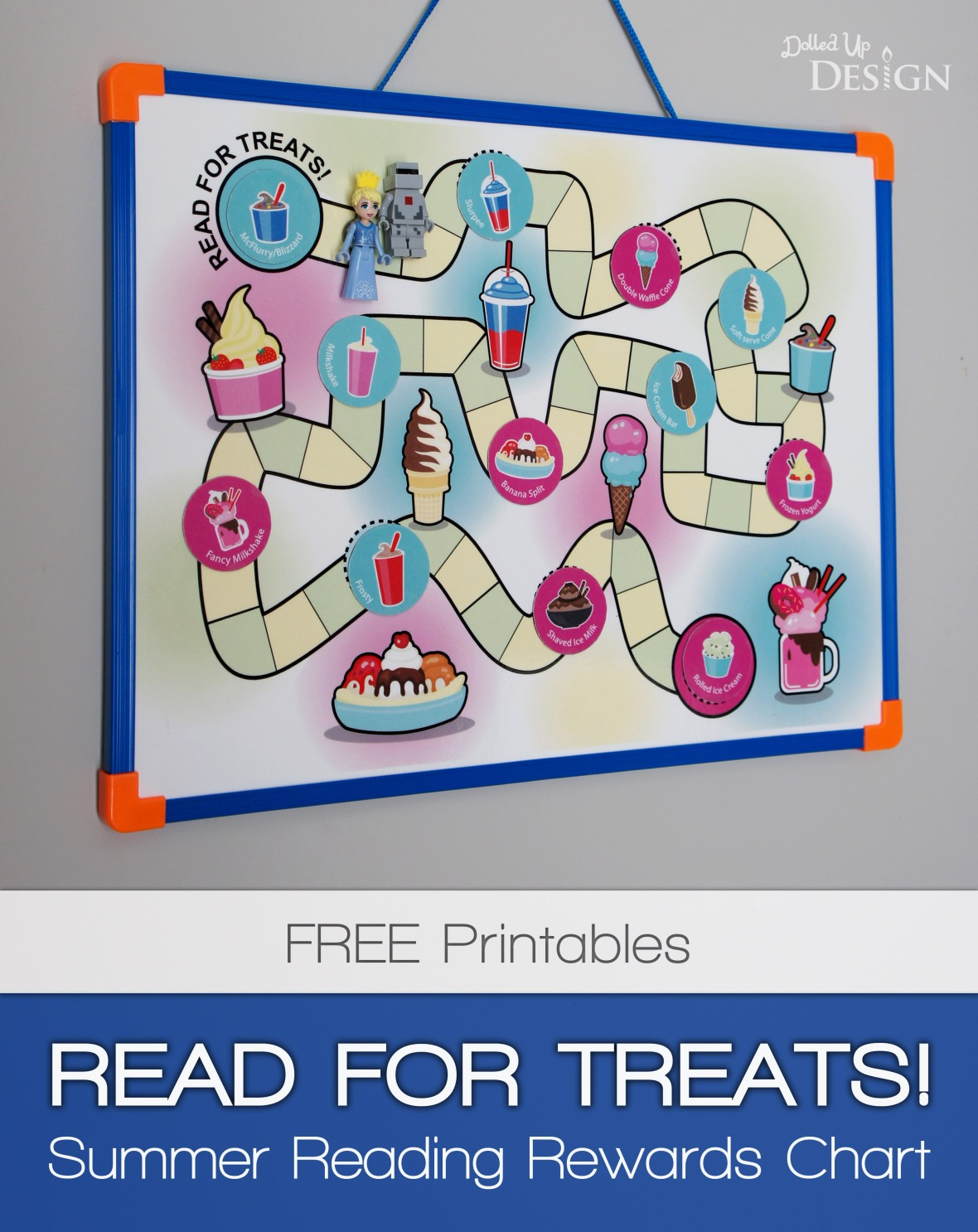 Reading Rewards Game Board_Free Printable Reward Chart