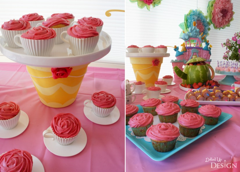 A Princess Tea Party Playdate_Teacup Cupcakes