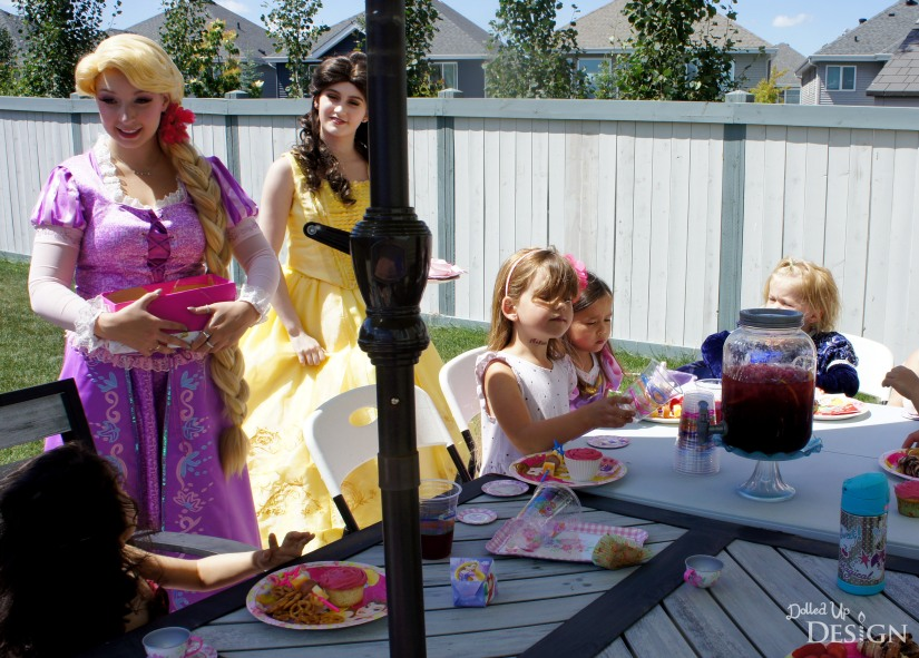 A Princess Tea Party Playdate with A Charmed Affair