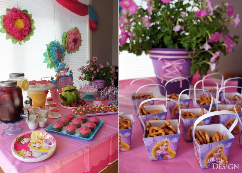 A Princess Tea Party Playdate_Tea Party Snacks