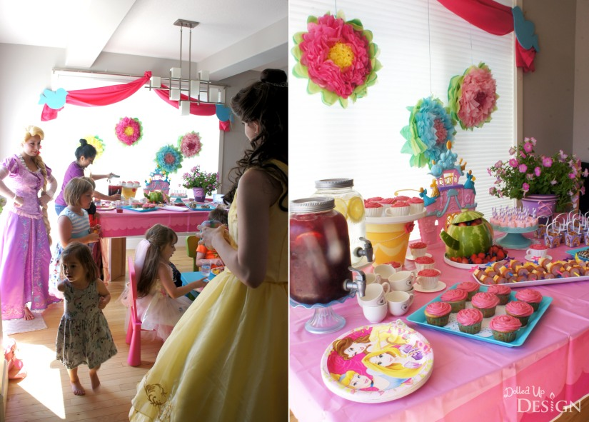 A Princess Tea Party Playdate_Tea Party Treats
