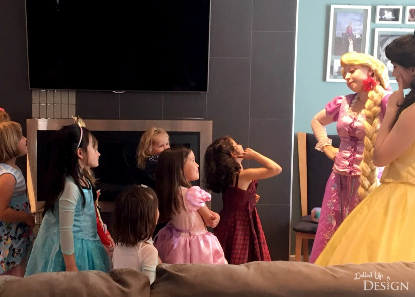A Princess Tea Party Playdate_Rapunzel