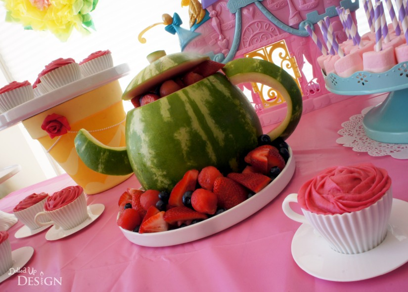 A Princess Tea Party Playdate_Watermelon Teapot