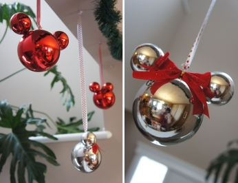 DIY Mickey Ball Ornaments