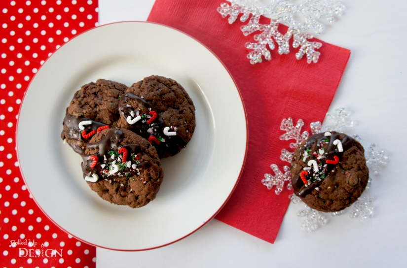 Christmas Cookies_Double Chocolate Peppermint Cookies