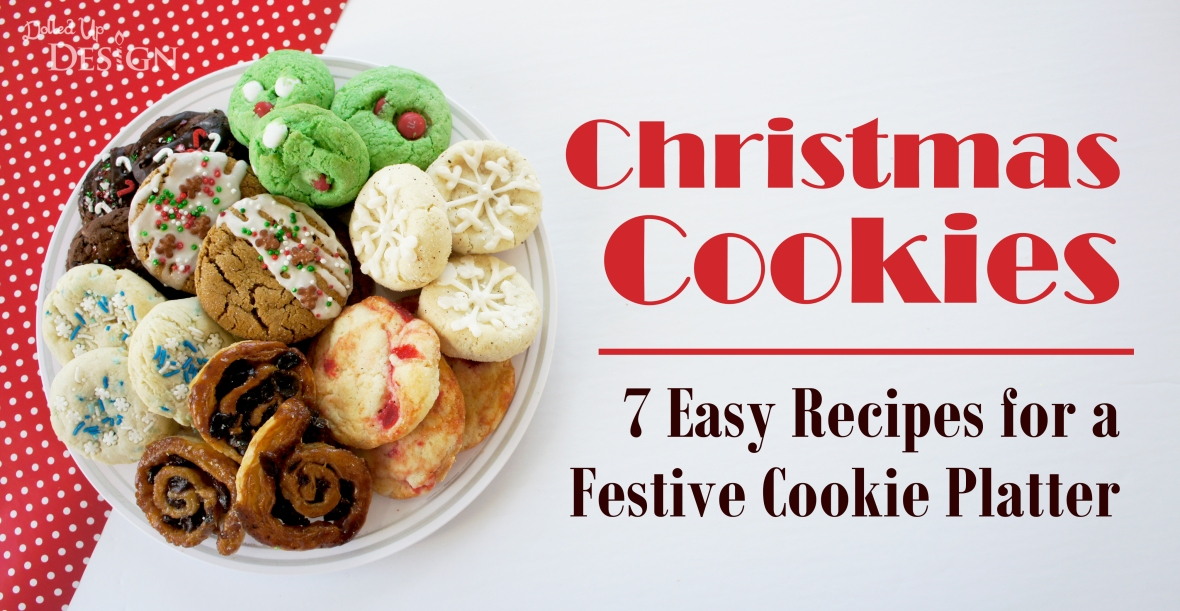 Christmas Cookies_7 Easy Recipes for a Festive Cookie Platter