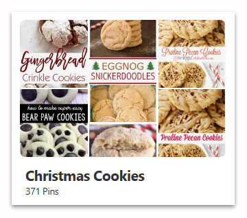 Christmas Cookies Pinterest Board