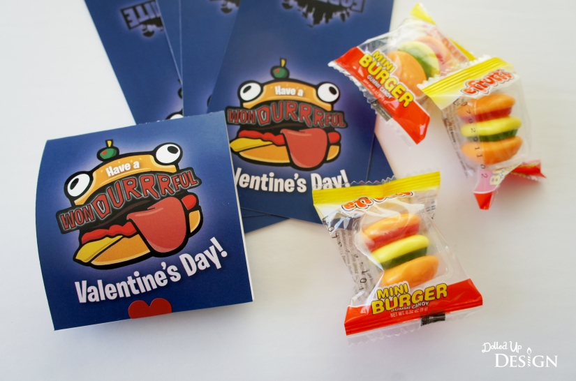 Fortnite Candy Inspired Valentine's Durr Burger