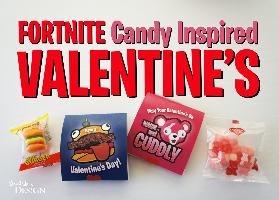 Fortnite Candy Inspired Valentine's Dolled Up Design